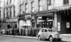 Queuing at the Gaumont, formerly the Picture House. Building consent has been awarded to convert the now office block into flats. Picture by Aberdeen Journals Ltd, May 16 1957.
