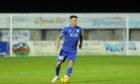 Peterhead striker Derek Lyle. Picture by Darrell Benns