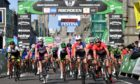 The Tour Series cycling in Union Street, Aberdeen in 2018.