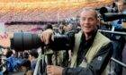 Press and Journal photographer Colin Rennie at the Olympics in 2012.
