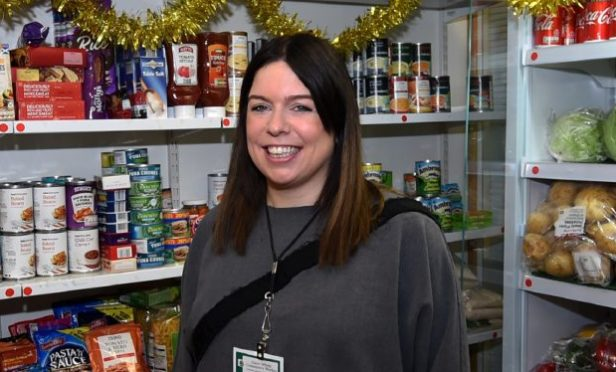 Claire Whyte of Fersands and Fountain community project. Picture by Jim Irvine