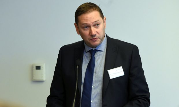 Aberdeen City Council co-leader Douglas Lumsden.