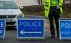 The accident happened on the A836 road