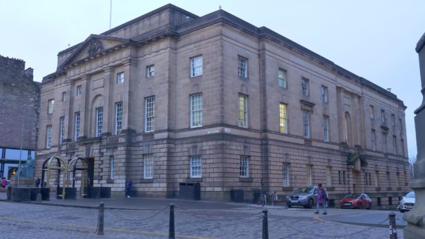 High Court in Edinburgh. Shutterstock