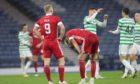 Aberdeen were beaten 2-0 by Celtic on Sunday.