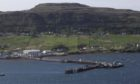 The ferry port of Uig is one of many Skye villages included in a single investment plan for Skye and Raasay.