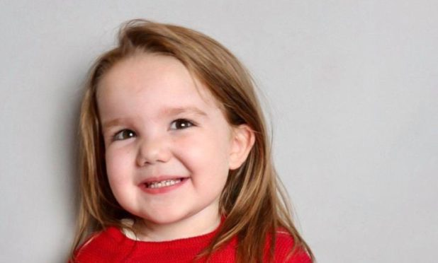 Four-year-old Adeline Davidson suffers from a rare form of blood cancer and is urgently waiting to receive a life saving stem cell transplant.