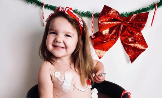 Adeline Davidson was due to undergo a life-saving transplant in January.