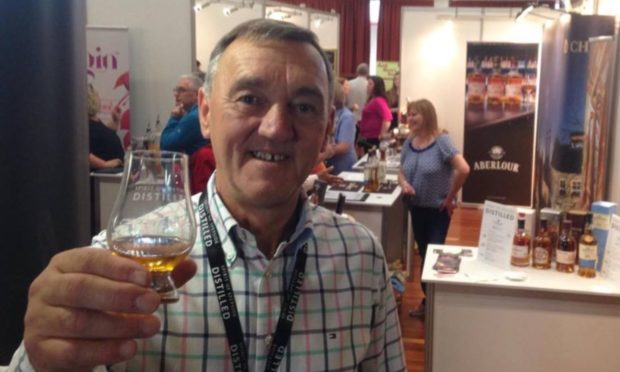 Spirit of Speyside Whisky Festival chairman James Campbell is looking forward to the event's return in 2021