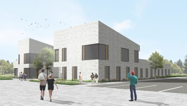 An artistic impression of the planned £8.1m health centre at Greenferns in Northfield.