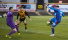 Inverness' Brad McKay makes it 1-0 during the Scottish Championship match against Alloa last weekend.