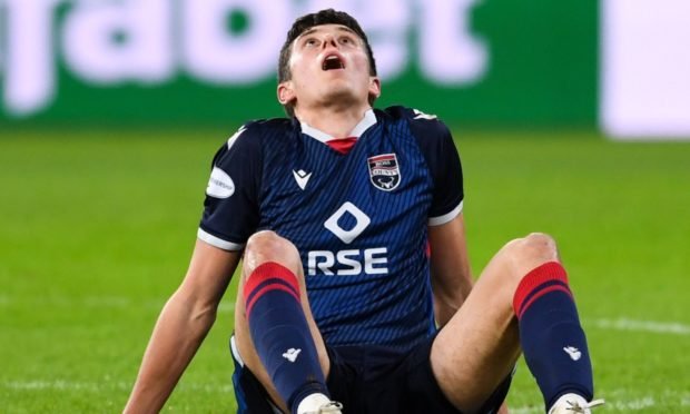 Ross Stewart has not featured for Ross County since the 2-0 league loss to Celtic at Parkhead.