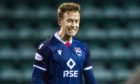 Harry Paton celebrates netting for Ross County