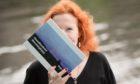 Aberdeen author Birgit Itse with her book.