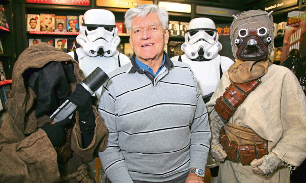 Dave Prowse pictured in 2012.