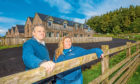 James and Ailsa Clark of Blairmore farm have received no support for loss of accommodation bookings.