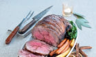 Christmas spiced Scotch Lamb with port gravy is among the festive menu suggestions.