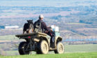 Farming has the poorest safety record of any occupation in the UK and seeing quad riders without helmets does not help.