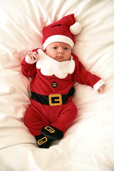 Novelty Santa outfit, £7, Primark