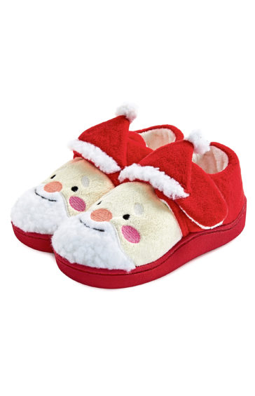 Younger boy Christmas Santa shoes, £4, Primark