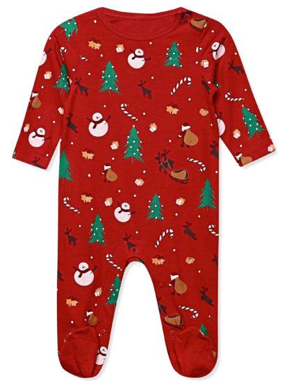 Newborn family Christmas pyjamas, £9.99, M&Co