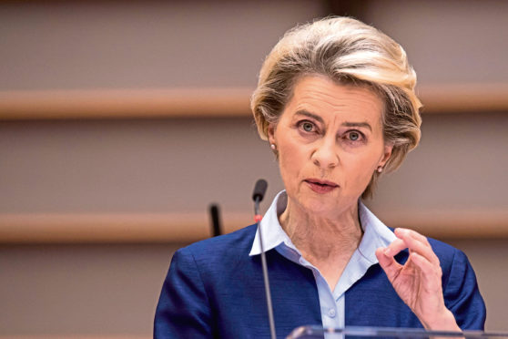 Commission president Ursula von der Leyen hit out at farm ministers.