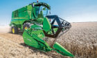 The technology is being trialled on John Deere combines.