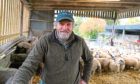 Martin Kennedy on his farm near Aberfeldy.
