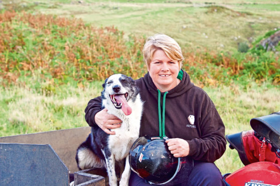 Joyce Campbell will co-chair the hill, upland and crofting sectors group.
