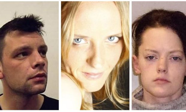 L-R: Accused Ross MacDougall, murdered Tracy Walker's and accused Dawn Smith.