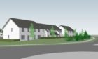 Construction is underway on 21 affordable homes within the Milton of Leys area.