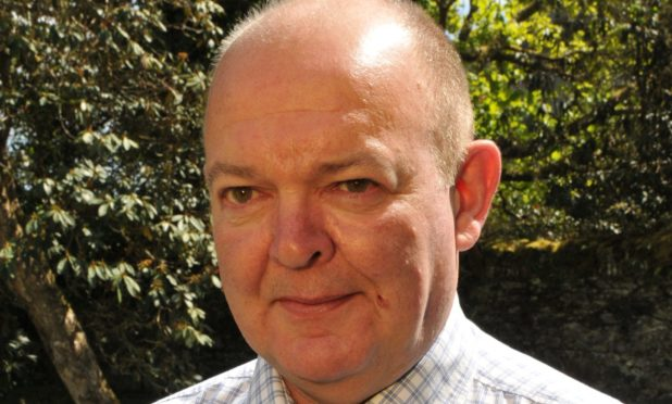 Robin Currie, leader of Argyll and Bute Council.    Robin Currie - Liberal Democrats    (handout pics)