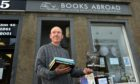 Books Abroad volunteer Gary McGregor.  Picture by Kenny Elrick