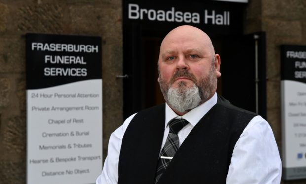 Funeral director Paul Deans