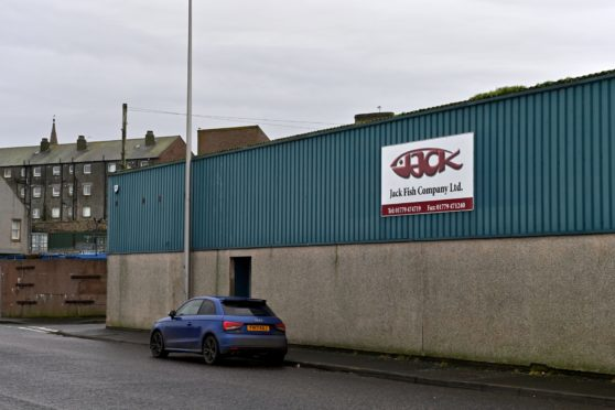 Jack Fish Co Ltd, Peterhead.  Picture by Kenny Elrick