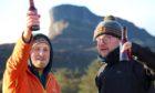 Eigg brewery founders Ben Cormack and Stu McCarthy