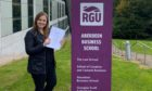 Emily Smith. RGU's Aberdeen Business School.