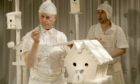 Lyth Arts Centre has unveiled its festive programme, which includes a film of White, the Catherine Wheels children's Christmas show.
