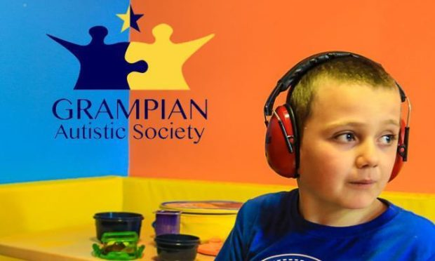 Grampian Autistic Society members are urging people to be autism aware.