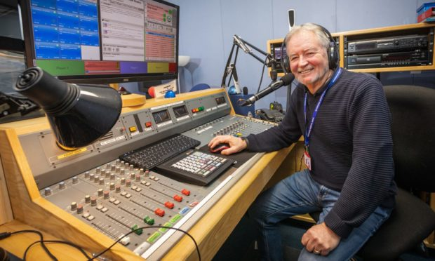 Terry Henderson of Inverness Hospital Radio