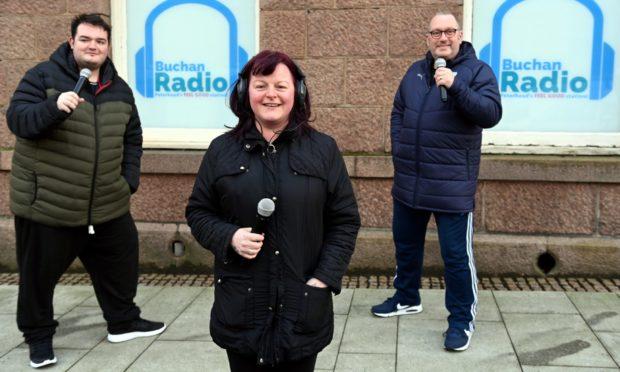Buchan Radio is having an on air party on Hogmanay.