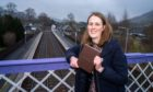 Dundee graduate Julie Cumming who has created a book about Blair Atholl's history during lockdown.