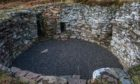 Ousdale Broch in Caithness has been restored in a pioneering £180,000 project. Photo by Angus Mackay Photography