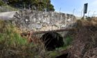 """The Foths Burn crossing south of Elgin, near Birnie, was shut in November last year after """"significant"""" movement was detected in the stonework."""
