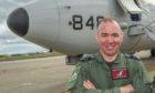 Gary Banford at RAF Lossiemouth.