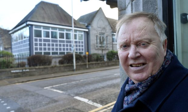 """Councillor Bill Cormie said the former French School in Whitehall Place would be a """"great asset"""" for neighbouring Aberdeen Grammar School."""