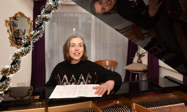 Banchory Singers conductor Tara Leiper.