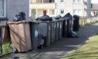 Changes will be made to the bin collection schedule in Aberdeen over the festive period. Picture by Kath Flannery.