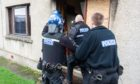 The two-week operation got underway last Friday with police raiding properties in search of drugs.
