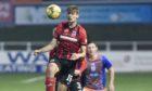 Elgin City striker Joel MacBeath.